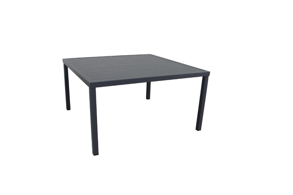TABLE PIAZZA FIX ALU CAR 8P GR